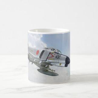 McDonnell-Douglas F- 4EJ Phantom II JASDF Classic White Coffee Mug