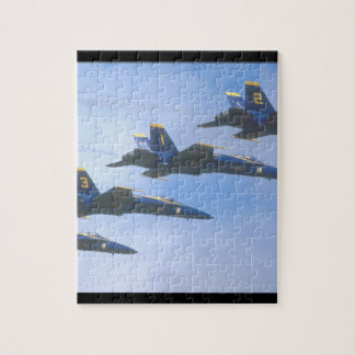 McDonnell Douglas F/A-18A_Aviation Photograp Jigsaw Puzzle