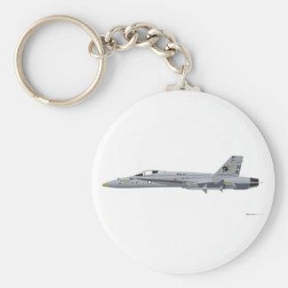 McDonnell Douglas FA-18 Hornet Keychain