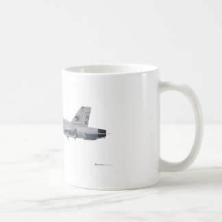 McDonnell Douglas FA-18 Hornet Classic White Coffee Mug