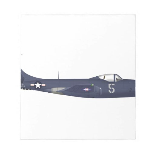 McDonnell Douglas FH-1 Phantom 111793 Memo Note Pads