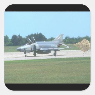 McDonnell Douglas RF-4C_Aviation Photography Square Sticker