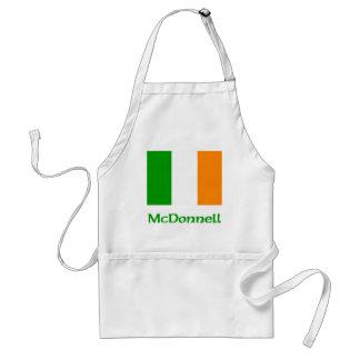 McDonnell Irish Flag Adult Apron