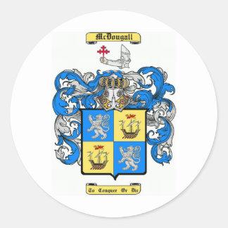 McDougall Classic Round Sticker