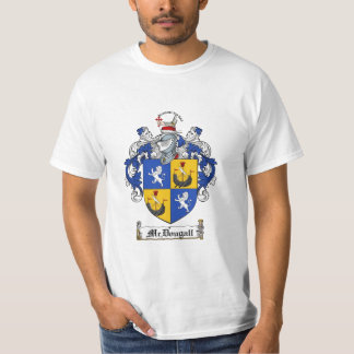 Mcdougall Family Crest - Mcdougall Coat of Arms T-Shirt