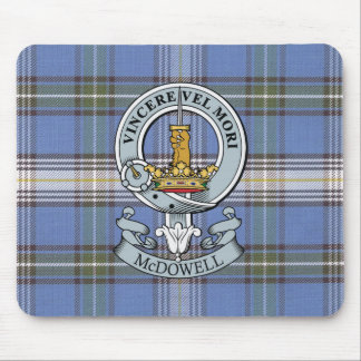 McDowell Crest + Tartan Mouse Pad