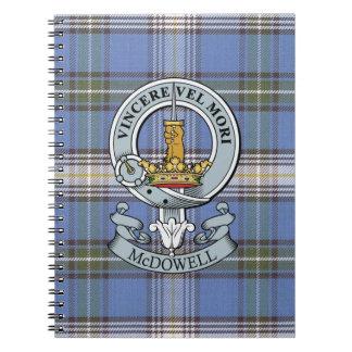 McDowell Crest + Tartan Notebook