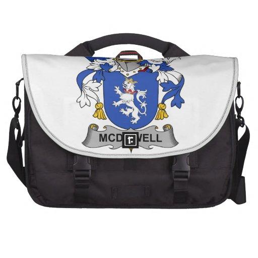 McDowell Family Crest Laptop Messenger Bag