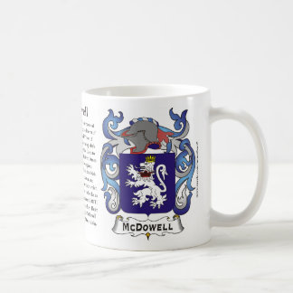 McDowell, the Origin, the Meaning and the Crest Mu Mugs