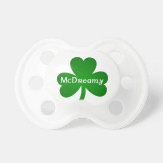 McDreamy Shamrock baby pacifier