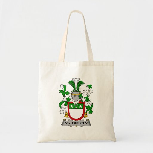 McDrury Family Crest Tote Bag