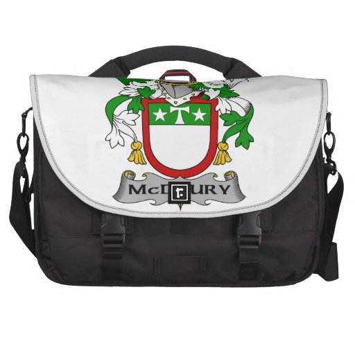 McDrury Family Crest Laptop Bags