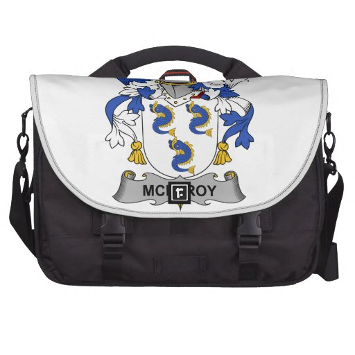 McElroy Family Crest Laptop Bags