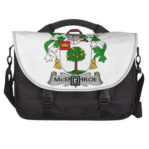 McEnchroe Family Crest Laptop Computer Bag