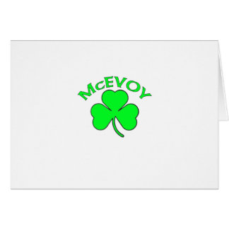 McEvoy Card