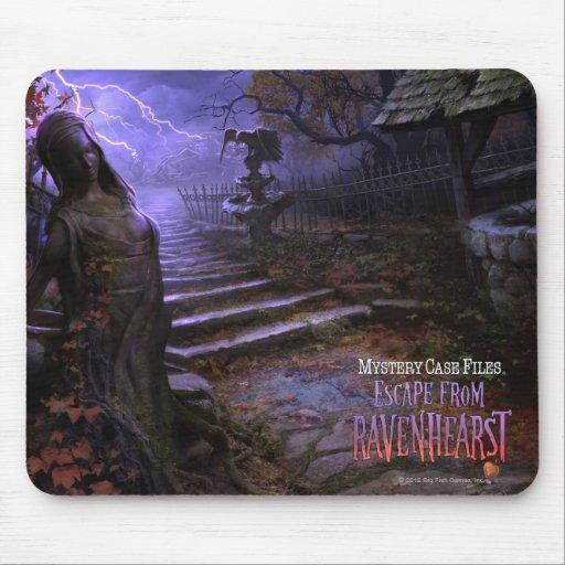 MCF: Escape de la estatua de Ravenhearst Alfombrillas De Ratones