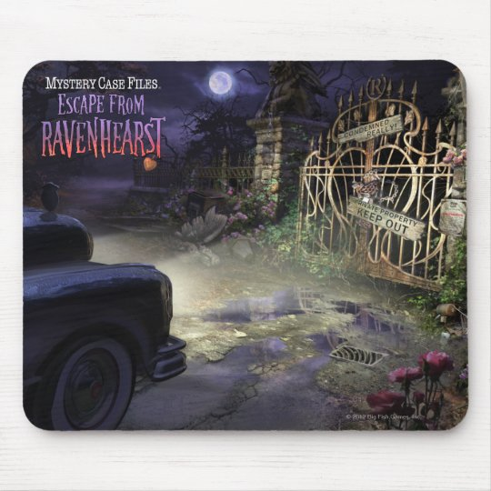 MCF: Escape From Ravenhearst Gate Mouse Pad