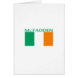 McFadden Card