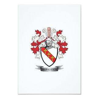McFadden Family Crest Coat of Arms Card