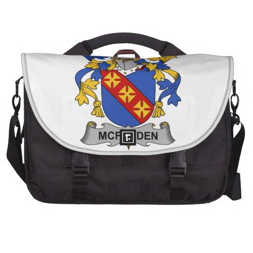McFadden Family Crest Laptop Bag