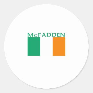 McFadden Classic Round Sticker