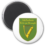 McFarland 1798 Flag Shield 2 Inch Round Magnet