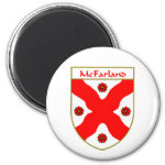 McFarland Coat of Arms/Family Crest 2 Inch Round Magnet