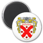 McFarland Coat of Arms (Mantled) 2 Inch Round Magnet