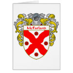 McFarland Coat of Arms (Mantled) Greeting Card