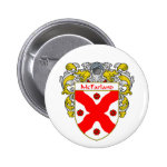 McFarland Coat of Arms (Mantled) Pinback Button