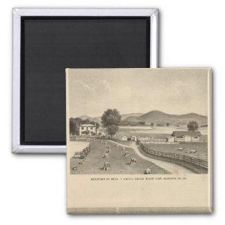 McFarland, Smith residences Fridge Magnets