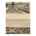 McFarland, Smith residences Postcard
