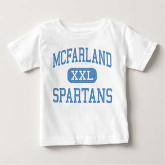 McFarland - Spartans - High - McFarland Wisconsin Infant T-shirt