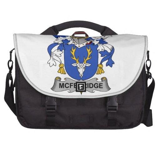 McFetridge Family Crest Laptop Bags