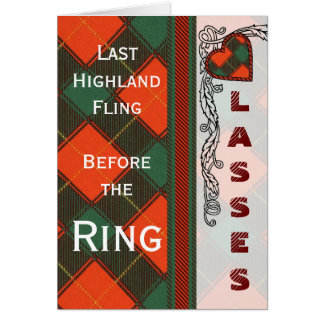 McFie Scottish Tartan Card