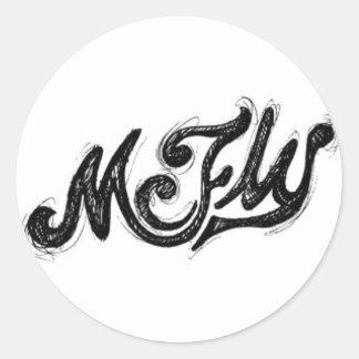 Mcfly Soon Classic Round Sticker