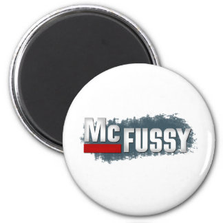 McFuzzy Funny Baby Magnet