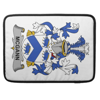 McGann Family Crest Sleeves For MacBook Pro