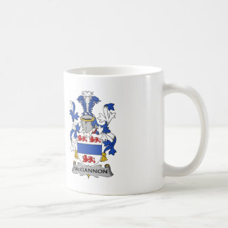 McGannon Family Crest Coffee Mug