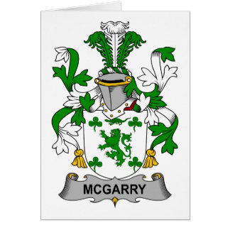 McGarry Family Crest Card