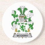 McGarry Family Crest Coaster