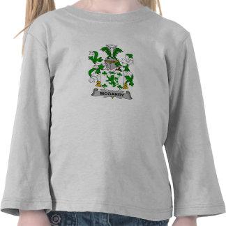 McGarry Family Crest Tshirt