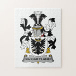McGartland Family Crest Puzzle