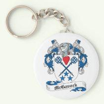 McGavock Family Crest Keychain