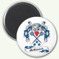 McGavock Family Crest Magnet