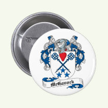 McGavock Family Crest Button