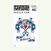 McGavock Family Crest Stamps