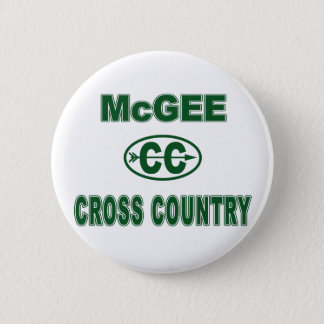 McGee Cross Country Pinback Button