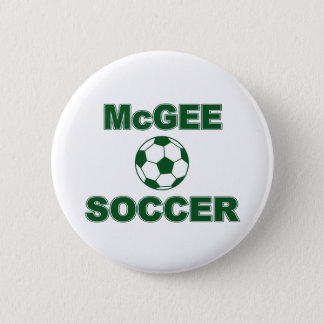 McGee Soccer Pinback Button