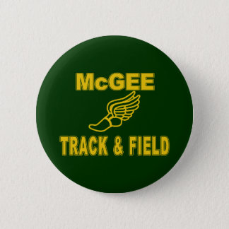 McGee Track & Field Button